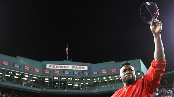 Watch David Ortiz's Emotional Goodbye to Boston Red Sox Fans