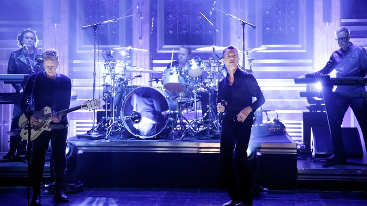 Watch Depeche Mode Bring 'Where's the Revolution' Shout to 'Fallon'