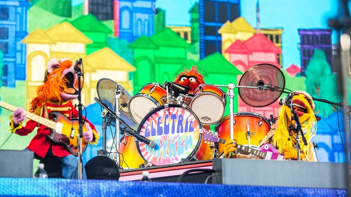 Watch Muppets Band Dr. Teeth and Electric Mayhem Make Live Debut