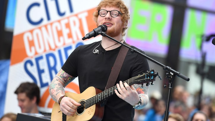 Watch Ed Sheeran Perform 'Shape Of You' as One-Man-Band on 'Today'