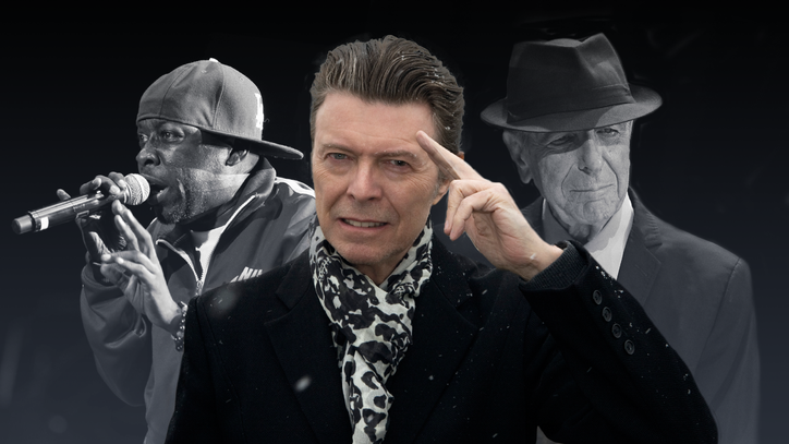 How David Bowie, Leonard Cohen and Phife Dawg Reinvented the Musical Farewell