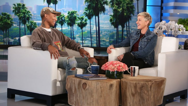 Watch Pharrell, Ellen DeGeneres Discuss Kim Burrell's Homophobic Outburst
