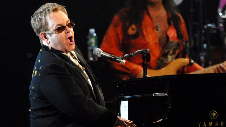 Flashback: Elton John Plays 'Tumbleweed' Classic at 60th Birthday Gig