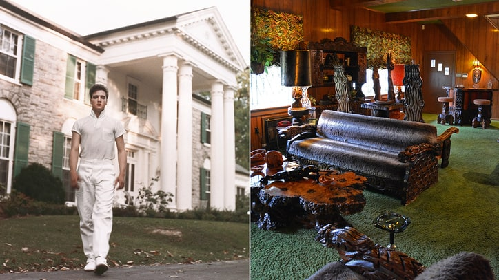Inside Elvis Presley's Legendary Man-Cave Studio
