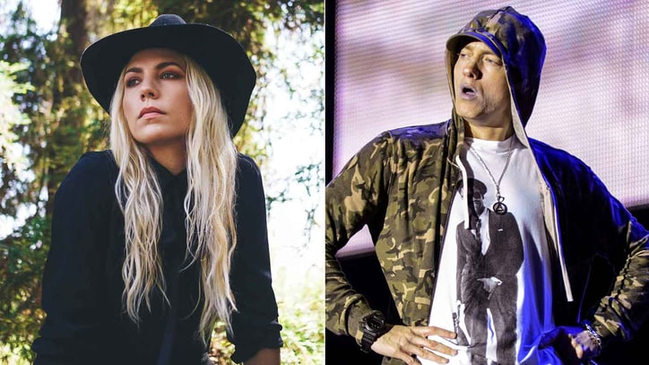 Hear Eminem, Skylar Grey's Bonnie and Clyde-Inspired 'Kill for You'