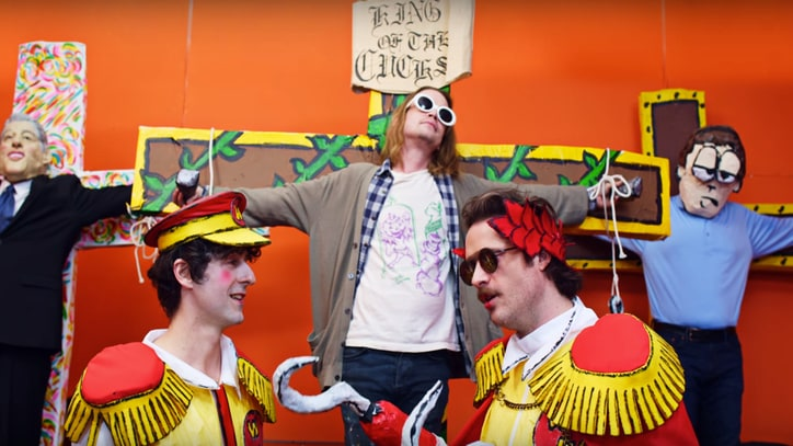 Watch Father John Misty's New Video With Macaulay Culkin as Kurt Cobain