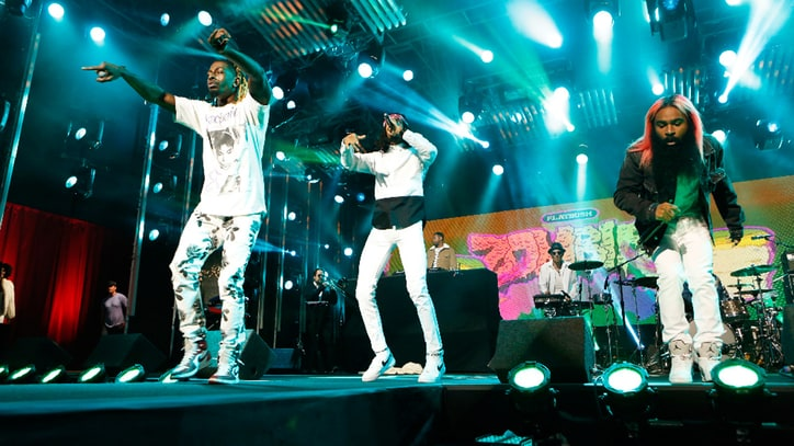 Watch Flatbush Zombies Mosh With Fans on 'Kimmel'