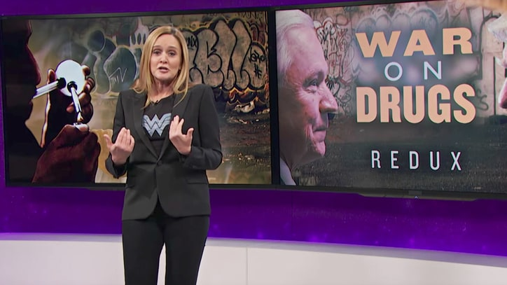 Watch Samantha Bee Slam Jeff Sessions' Draconian Drug Sentencing Policy