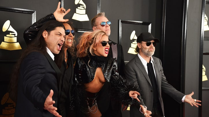 The 59th Grammy Awards Red Carpet