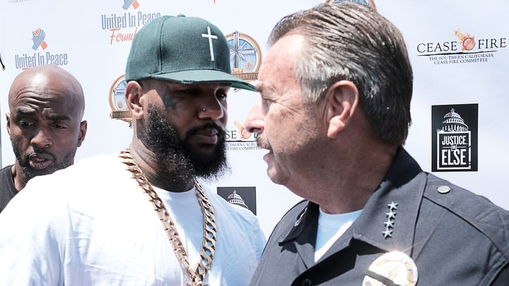 The Game Addresses L.A. Gangs at Anti-Violence Summit