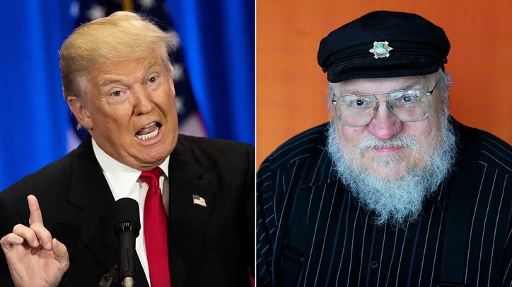 George R.R. Martin on President 'Pussygrabber' Trump: 'Winter Is Coming'