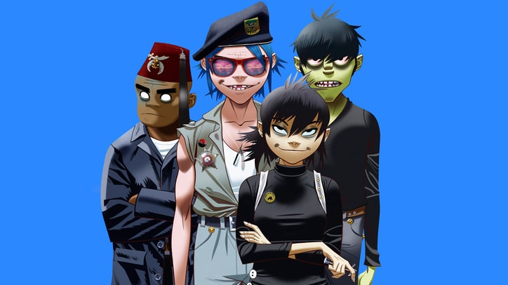 Hear Gorillaz's New Psychedelic Disco Song, 'Sleeping Powder'