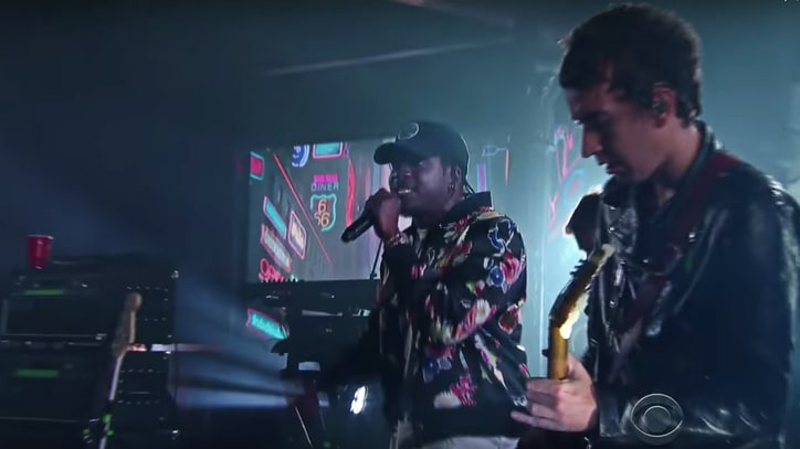 See Gorillaz Play 'Let Me Out' With Pusha T on 'Colbert'