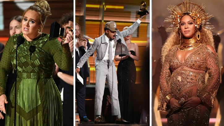 Grammys 2017: Adele, Chance the Rapper, Beyonce Dominate