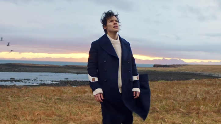 Watch Harry Styles Walk on Water in 'Sign of the Times' Video