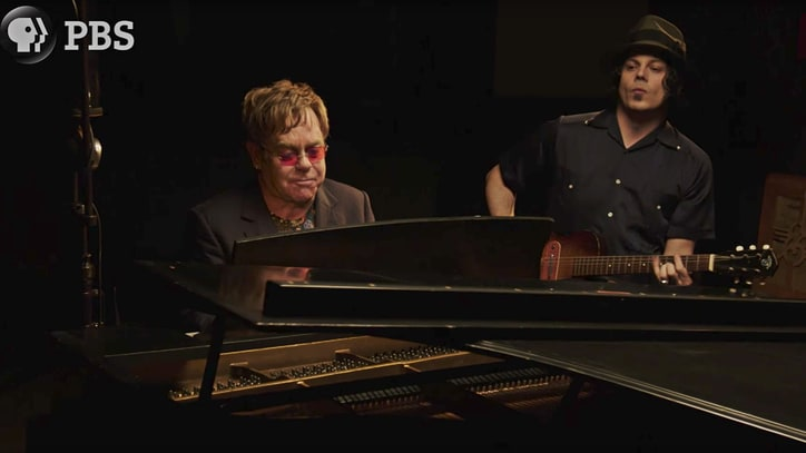 See Jack White, Elton John Duet on Raucous Song 'Two Fingers of Whiskey'