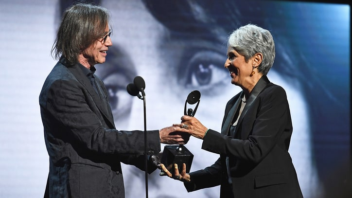 Watch Jackson Browne's Laudatory Joan Baez Rock Hall Induction Speech