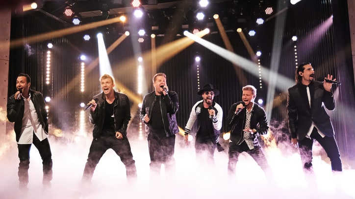 Watch James Corden Join Backstreet Boys for 'Everybody'