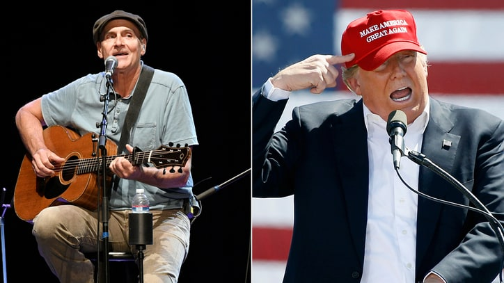 James Taylor on Donald Trump: 'This Guy Isn't Hitler. He's Mussolini'