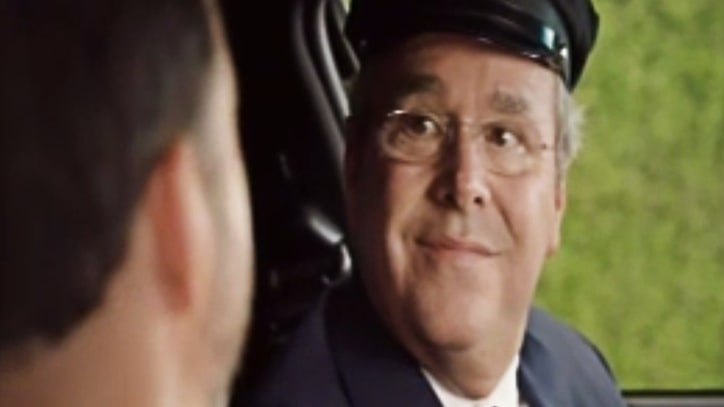Emmys 2016: Watch Jeb Bush's Surprise Cameo as Uber Driver in Opening Sketch