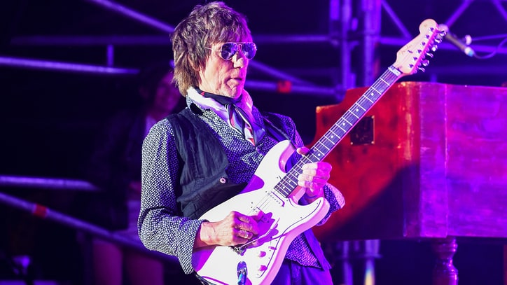 Watch Jeff Beck, Steven Tyler's Scorching 'Purple Rain' Cover