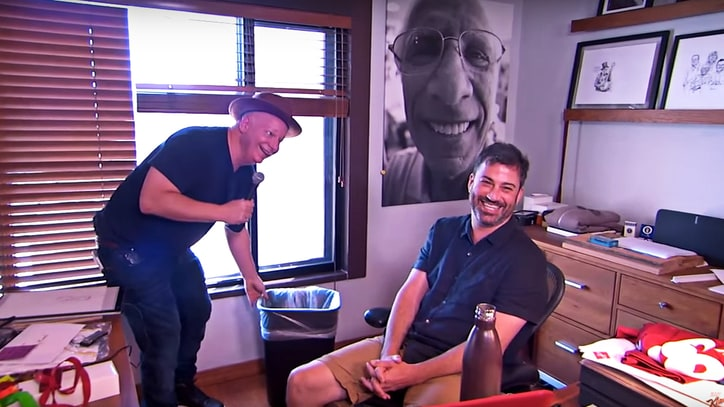 Watch Jeff Ross Roast Entire 'Jimmy Kimmel' Staff