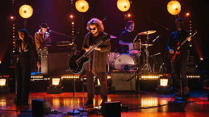 Watch Jim James Perform Evocative New Song on 'Corden'