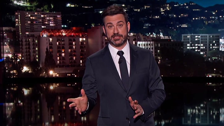 Jimmy Kimmel Probes Sean Spicer's Inner Voice During Hitler Comment