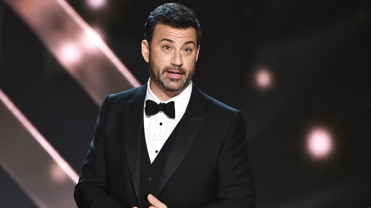 Emmys 2016: Watch Jimmy Kimmel Skewer Trump, Maggie Smith in Monologue
