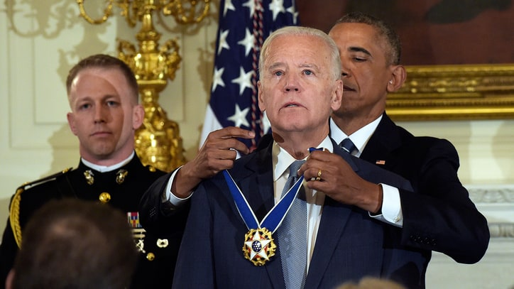 Watch Barack Obama Surprise Joe Biden With Presidential Medal of Freedom