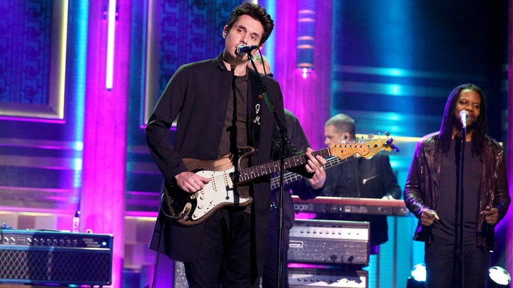 Watch John Mayer Perform Romantic 'Love on the Weekend' on 'Fallon'