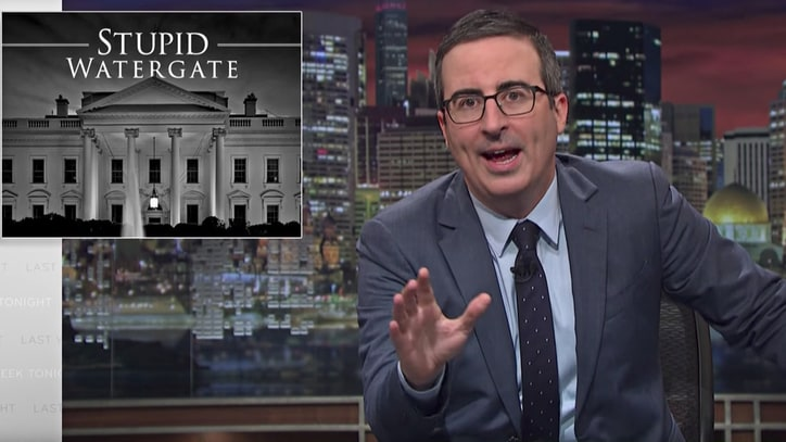 See John Oliver Explain Why Trump's Russia Scandal Is 'Stupid Watergate'