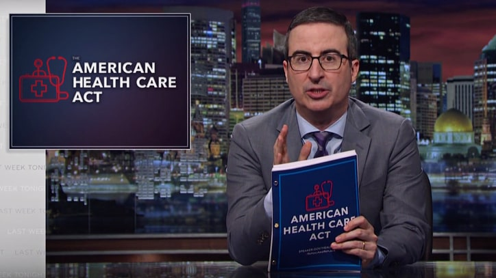 Watch John Oliver Compare 'Trumpcare' to Johnny Depp in 'Pirates' Sequels