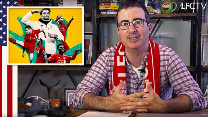 Watch John Oliver Try to Sell Americans on Favorite Soccer Club
