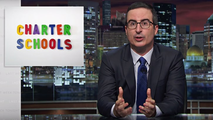 Watch John Oliver Expose Shocking Flaws of Charter Schools