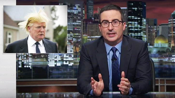 Watch John Oliver Give National Apology for Donald Trump Candidacy