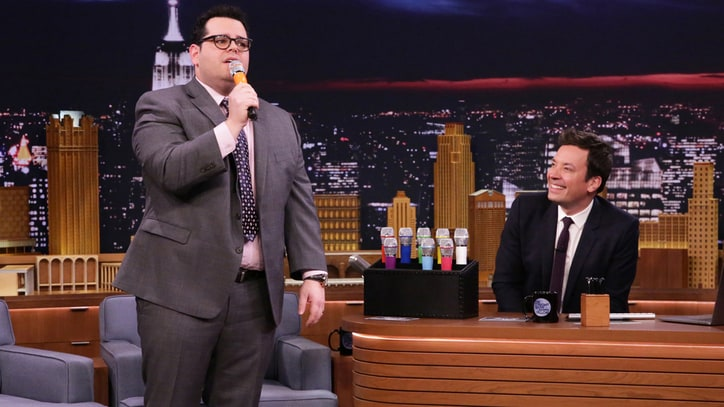 Watch Josh Gad, Jimmy Fallon Sing Auto-Tuned 'Beauty and the Beast'