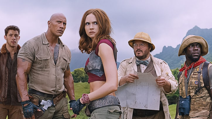 Watch Teens Become the Rock, Kevin Hart in 'Jumanji 2' Trailer