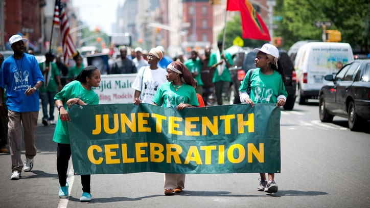 Juneteenth: Trump Sends 'Warmest Greetings' to Mark End of U.S. Slavery