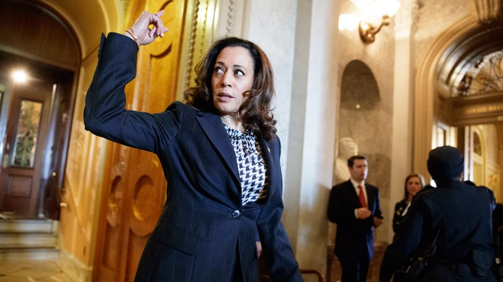 Kamala Harris Hits Jeff Sessions for 'Dark Ages' Drug Sentencing