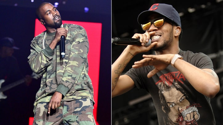 Kanye West, Kid Cudi Square Off Over Ghostwriting, Drake Collab