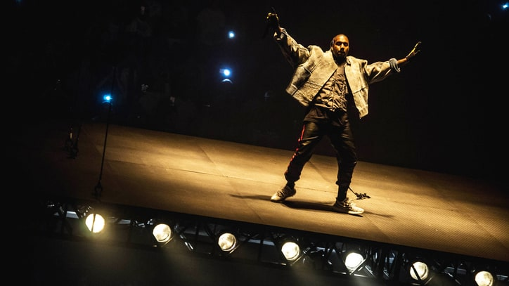 Kanye West Floats Over Crowd in Unique Saint Pablo Tour Kickoff