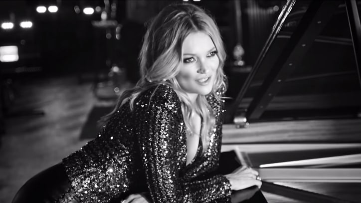 Watch Kate Moss Croon Elvis Presley's 'The Wonder of You'