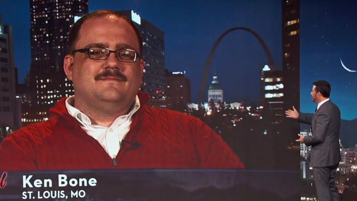Watch Presidential Debate Star Ken Bone Talk Internet Fame on 'Kimmel'
