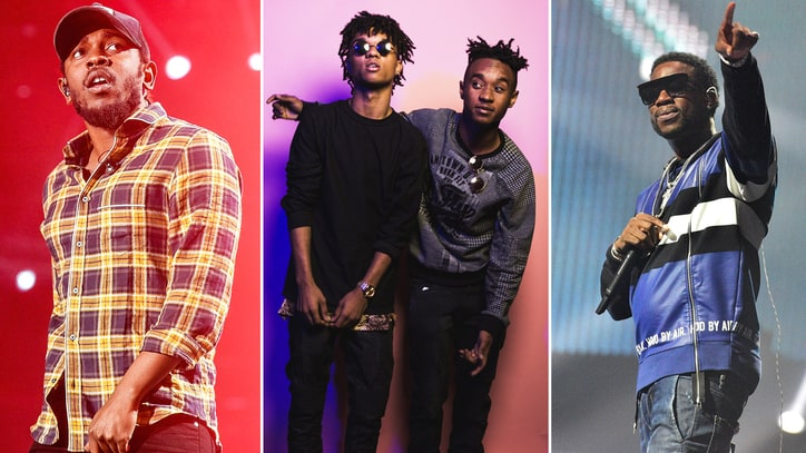 Hear Kendrick Lamar, Rae Sremmurd, Gucci Mane Rave on 'Perfect Pint'