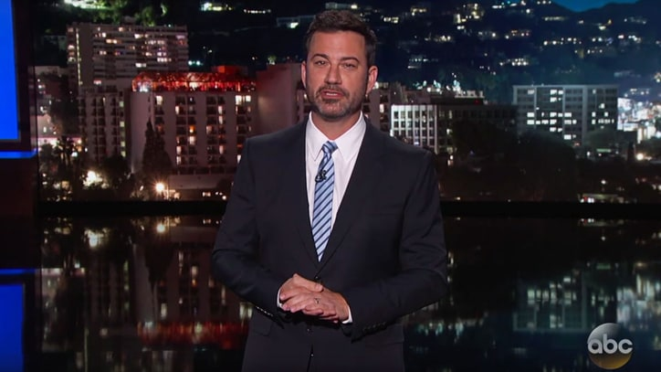 Watch People Discuss Fake Bill Clinton, Melania Trump Debate on 'Kimmel'