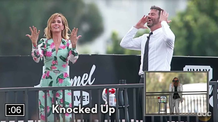 See Kristen Wiig, Zach Galifianakis, Owen Wilson Play Charades on Street