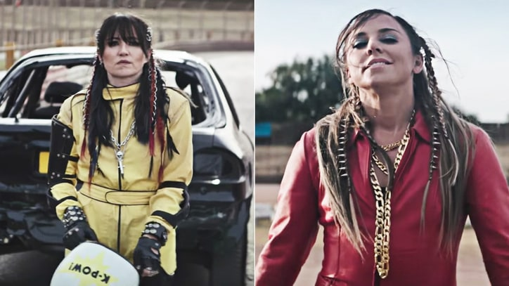 Watch KT Tunstall, Mel C Compete as Rally Drivers in 'Hard Girls' Video