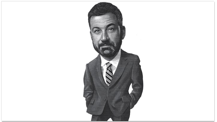 The Last Word: Jimmy Kimmel on Twitter Anxiety, Axl Rose and Space-Age Toilets