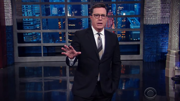 Watch Stephen Colbert, Seth Meyers Slam Donald Trump's Immigrant Ban